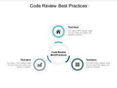 Code Review Best Practices Ppt PowerPoint Presentation File Files Cpb