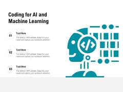 Coding For AI And Machine Learning Ppt PowerPoint Presentation File Slideshow PDF