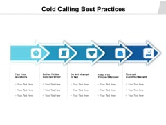 Cold Calling Best Practices Ppt PowerPoint Presentation Model Elements PDF