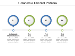 Collaborate Channel Partners Ppt PowerPoint Presentation Infographic Template Deck Cpb
