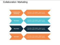 Collaboration Marketing Ppt Powerpoint Presentation Show Pictures Cpb
