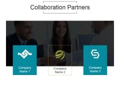Collaboration Partners Ppt PowerPoint Presentation Ideas
