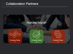 Collaboration Partners Ppt PowerPoint Presentation Introduction