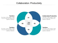 Collaboration Productivity Ppt PowerPoint Presentation Portfolio Templates Cpb