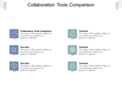 Collaboration Tools Comparison Ppt PowerPoint Presentation Inspiration Background Image Cpb Pdf