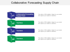 Collaborative Forecasting Supply Chain Ppt PowerPoint Presentation Icon Visual Aids Cpb
