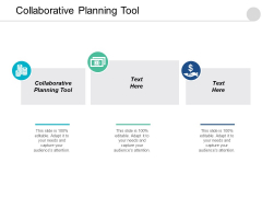 Collaborative Planning Tool Ppt PowerPoint Presentation Summary Layout Ideas Cpb