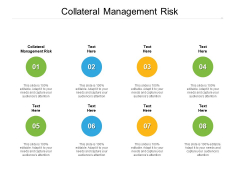 Collateral Management Risk Ppt PowerPoint Presentation Layouts Icon Cpb Pdf