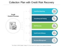 Collection Plan With Credit Risk Recovery Ppt PowerPoint Presentation Styles Information