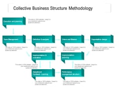 Collective Business Structure Methodology Ppt PowerPoint Presentation Gallery Ideas PDF