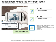 Collective Equity Funding Pitch Deck Funding Requirement And Investment Terms Graphics PDF