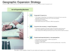 Collective Equity Funding Pitch Deck Geographic Expansion Strategy Portrait PDF