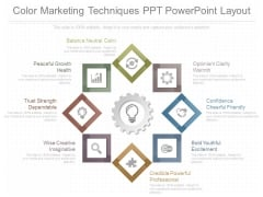 Color Marketing Techniques Ppt Powerpoint Layout