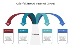 Colorful Arrows Business Layout Ppt PowerPoint Presentation Gallery Structure PDF