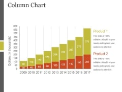 Column Chart Ppt PowerPoint Presentation Layout