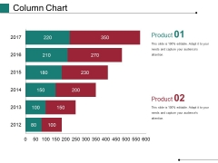 Column Chart Ppt PowerPoint Presentation Show Master Slide