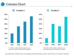 Column Chart Ppt PowerPoint Presentation Show Template