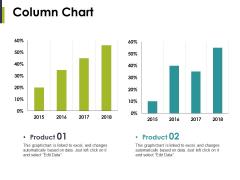Column Chart Ppt PowerPoint Presentation Summary Gridlines