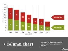 Column Chart Ppt PowerPoint Presentation Summary Introduction