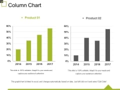 Column Chart Ppt PowerPoint Presentation Summary Slides