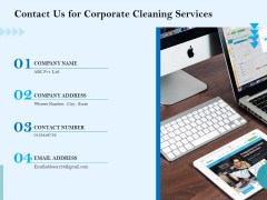 Commercial Cleaning Services Contact Us For Corporate Cleaning Services Sample PDF
