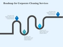 Commercial Cleaning Services Roadmap For Corporate Cleaning Services Information PDF