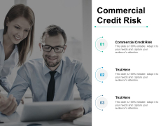 Commercial Credit Risk Ppt PowerPoint Presentation Summary Background Image Cpb