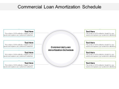 Commercial Loan Amortization Schedule Ppt PowerPoint Presentation Layouts Graphics Download Cpb