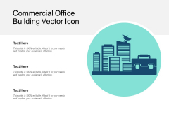 Commercial Office Building Vector Icon Ppt PowerPoint Presentation Gallery Icons PDF