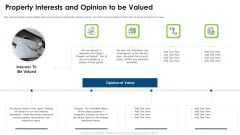 Commercial Property Evaluation Techniques Property Interests And Opinion To Be Valued Rules PDF