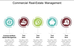 Commercial Real Estate Management Ppt PowerPoint Presentation Pictures Mockup Cpb