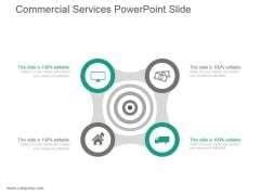 Commercial Services Powerpoint Slide