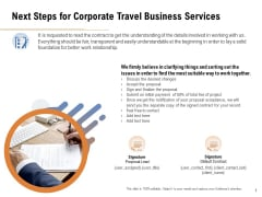 Commercial Travel And Leisure Commerce Next Steps For Corporate Travel Business Services Introduction PDF