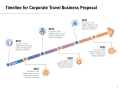 Commercial Travel And Leisure Commerce Timeline For Corporate Travel Business Proposal Microsoft PDF