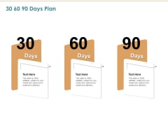Commercializing 30 60 90 Days Plan Ppt File Template PDF