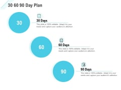 Commission Based Marketing 30 60 90 Day Plan Ppt Infographic Template Information PDF