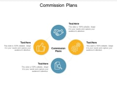 Commission Plans Ppt PowerPoint Presentation Inspiration Outfit Cpb