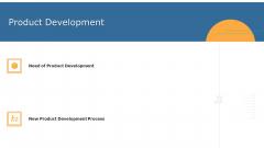 Commodity Unique Selling Proposition Product Development Brochure PDF