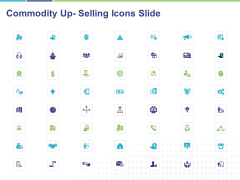 Commodity Up Selling Icons Slide Ppt Professional Template PDF
