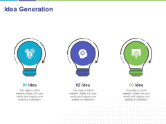 Commodity Up Selling Idea Generation Ppt Infographics Styles PDF