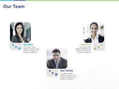 Commodity Up Selling Our Team Ppt Professional Graphics Download PDF