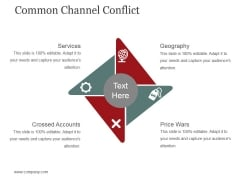 Common Channel Conflict Template 1 Ppt PowerPoint Presentation Infographic Template Background