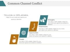 Common Channel Conflict Template 1 Ppt PowerPoint Presentation Introduction