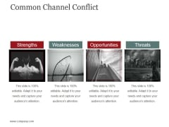 Common Channel Conflict Template 2 Ppt PowerPoint Presentation Ideas Clipart Images