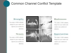 Common Channel Conflict Template Ppt PowerPoint Presentation Templates