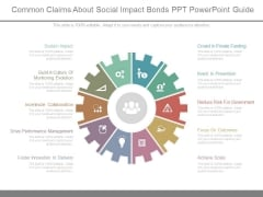 Common Claims About Social Impact Bonds Ppt Powerpoint Guide