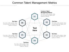 Common Talent Management Metrics Ppt PowerPoint Presentation Background Cpb Pdf