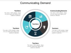 Communicating Demand Ppt PowerPoint Presentation Slides Samples Cpb
