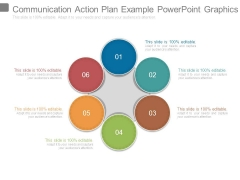 Communication Action Plan Example Powerpoint Graphics