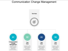 Communication Change Management Ppt PowerPoint Presentation File Diagrams Cpb